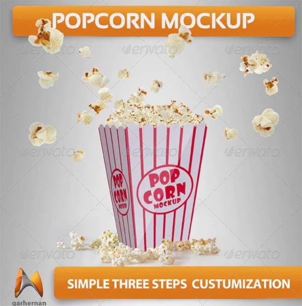 Popcorn Mockups