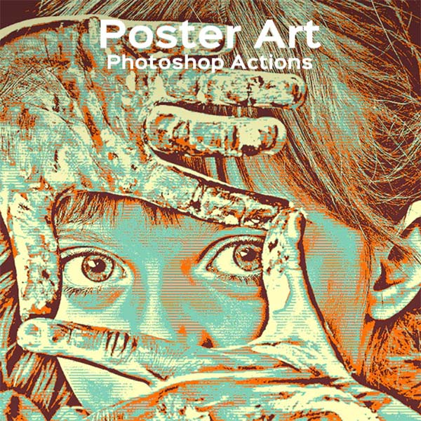 Poster Art Photoshop Actions File