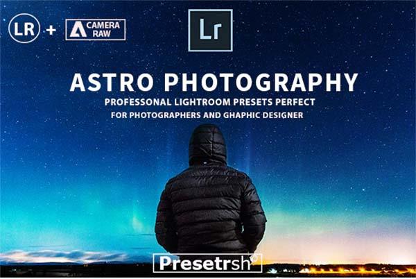 Pro Astrophotography Lightroom Presets