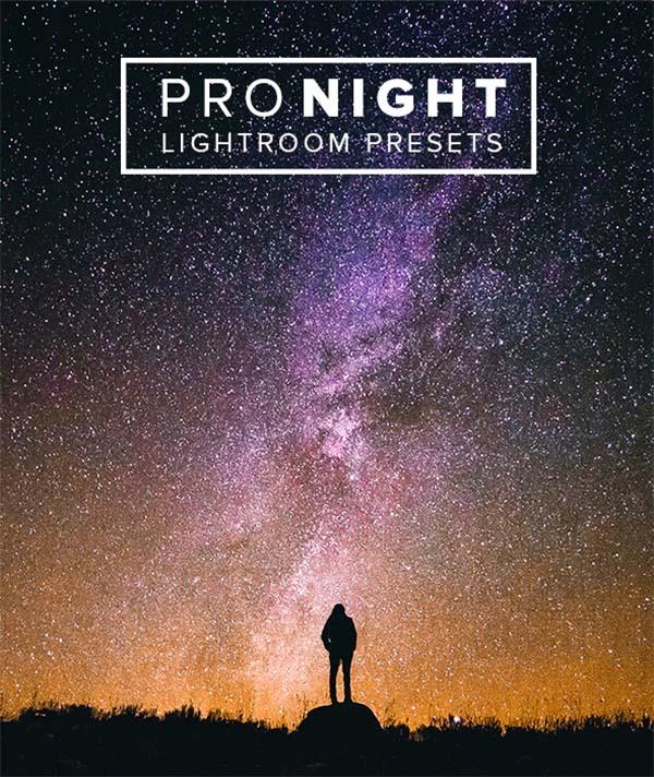 Pro Night Lightroom Presets