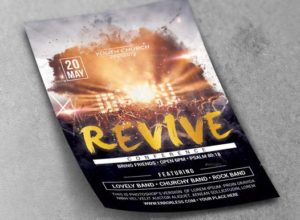 Revival Flyer Template Designs