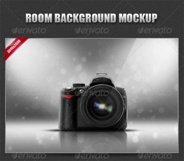 Room Background Mockup