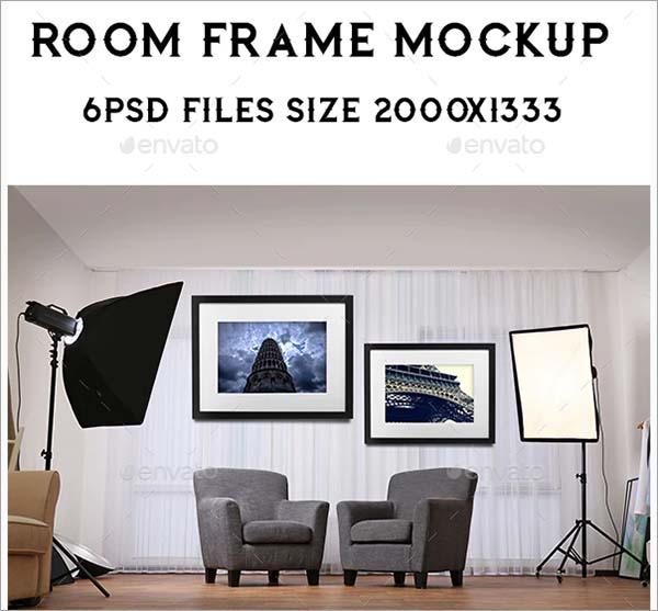 Room Frame Mockup Actions