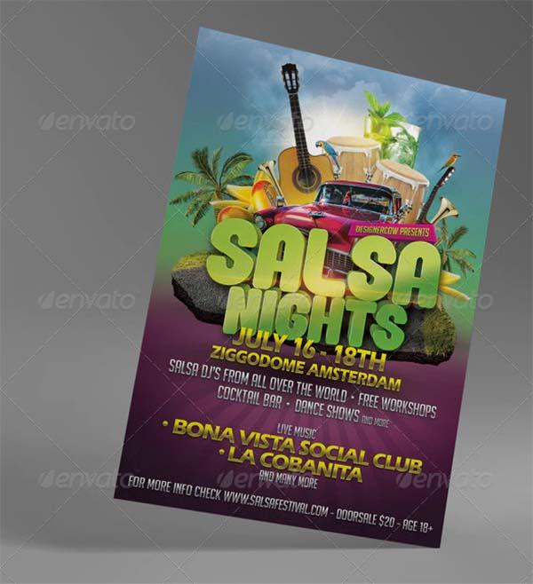 Salsa Festival Flyer Template