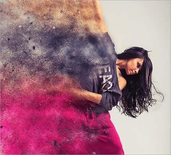 SandStorm Photoshop Action