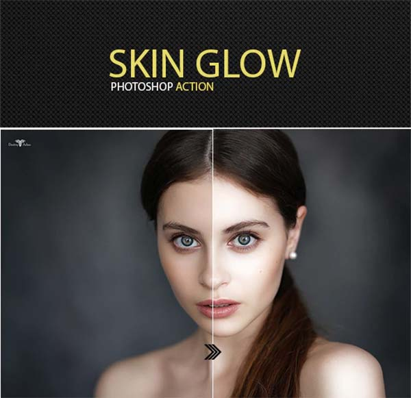 Skin Glow Photoshop Actions