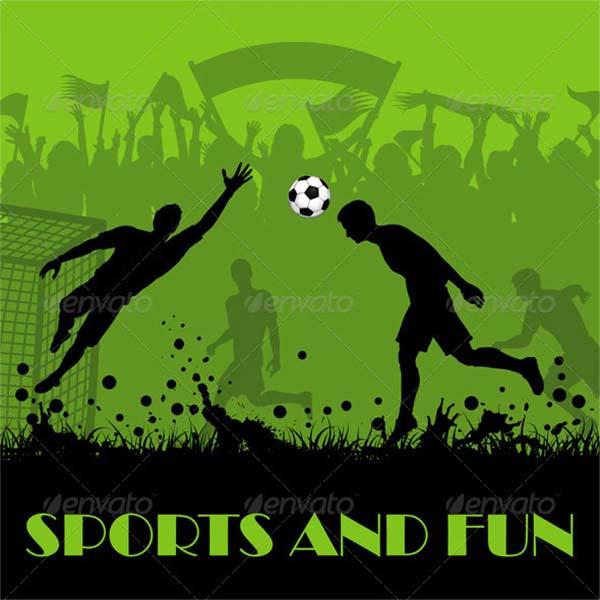 Soccer Design Poster Template
