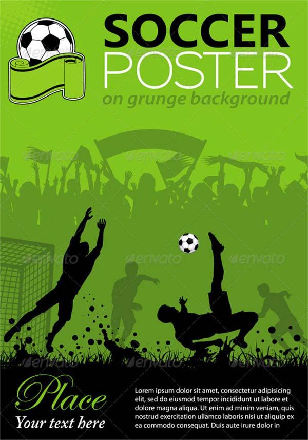 Soccer EPS Poster Template