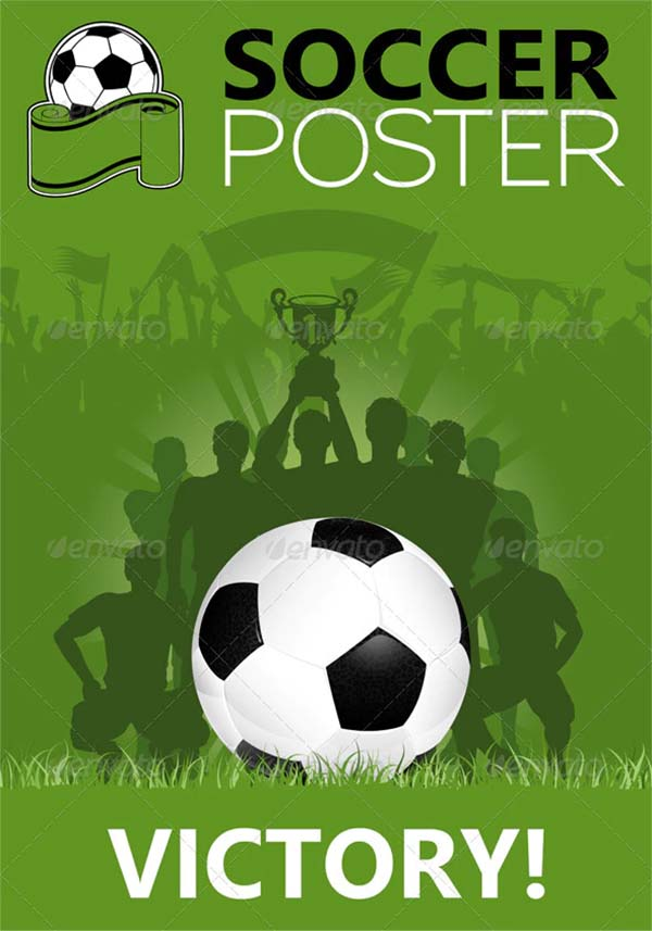 Soccer Football Poster Template
