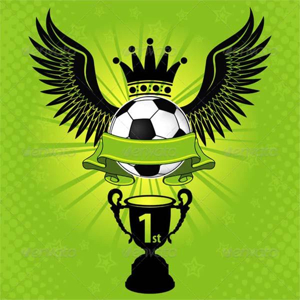 Soccer JPG Image Poster Template