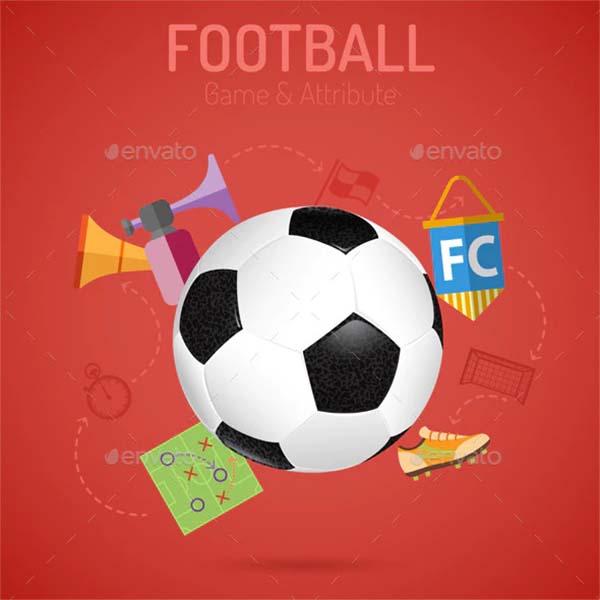 Soccer Poster Vector Design