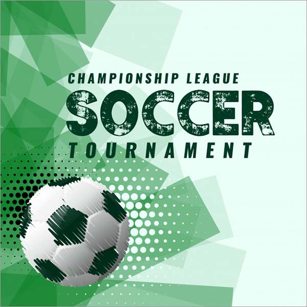Soccer Tournament Free Poste Template