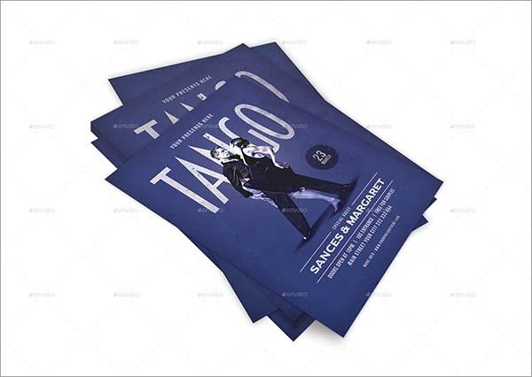 Tango Dance Flyer Template
