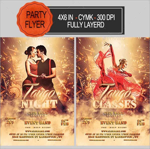 Tango PSD Flyer