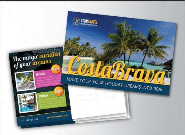 Travel Agency Postcard Bundle