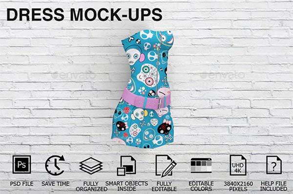 Women PSD Clothing Mockups