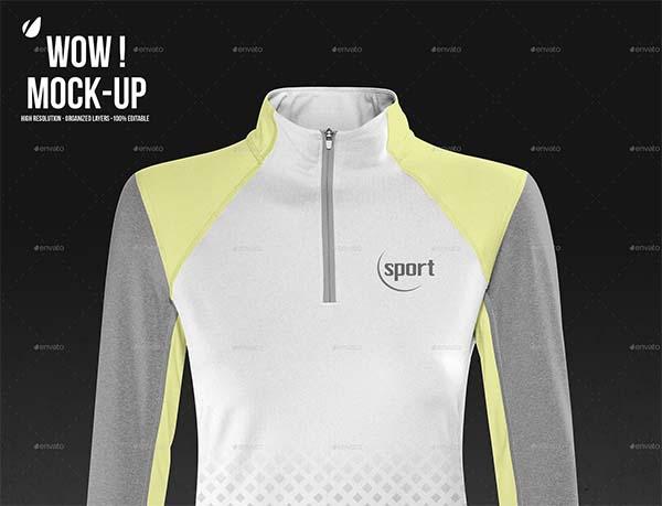 Women Sport shirt Mock-up