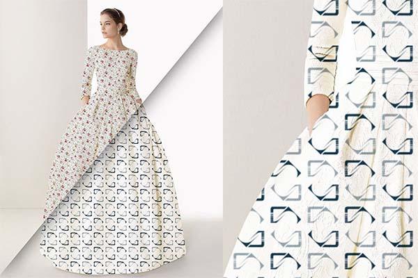 Women's Dress PSD Mockup