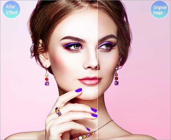 20 Skin Retouch Lightroom PSD Presets