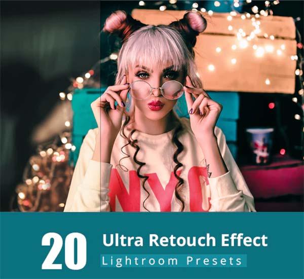 20 Ultra Retouch Lightroom Preset