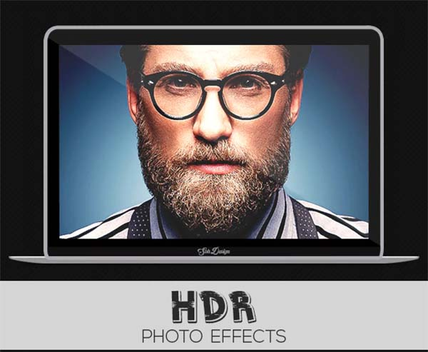 HDR Photoshop Actions Format