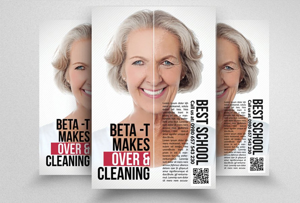 Anti Aging & Wrinkles remove Flyer