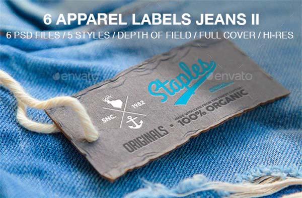 Apparel Labels Jeans