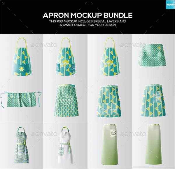 Apron Mockup Bundle