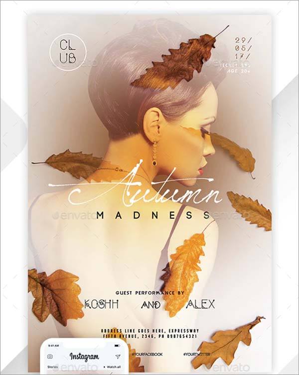 Autumn Flyer and Poster Template