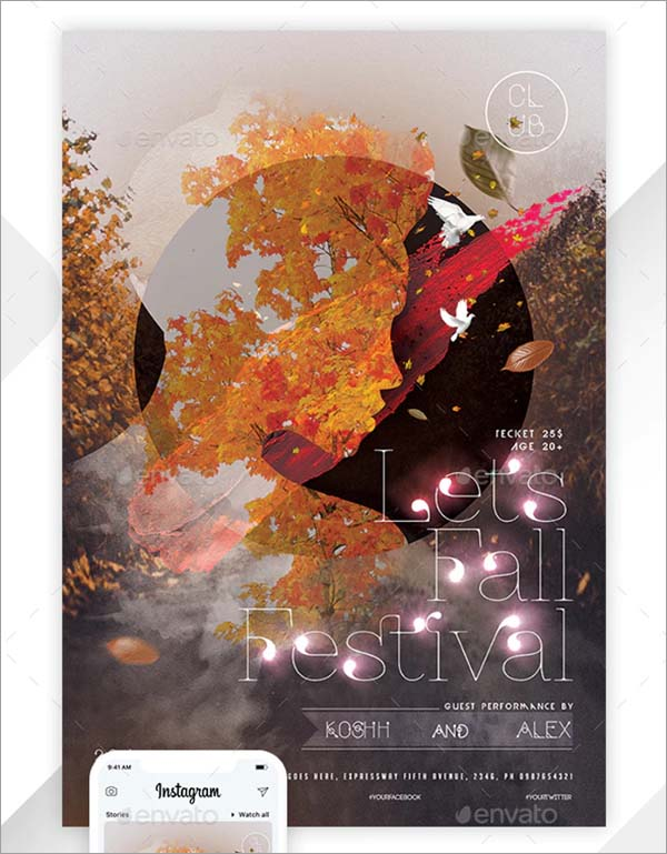 Autumn Flyer and Poster Templates