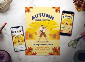 Autumn Poster Templates