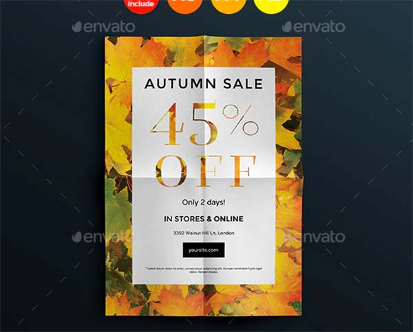 Autumn Sale Flyers and Posters Template