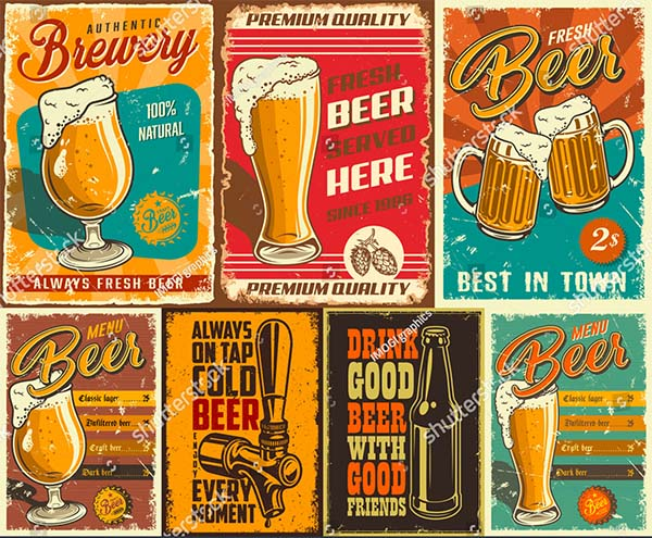 Beer Poster Template