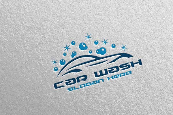 Car Wash Logo Designs