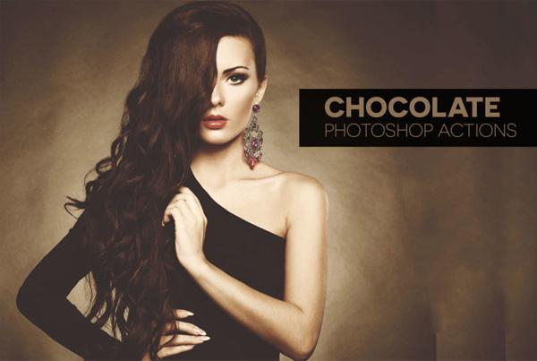 Chocolate Studio Photoshop Actions