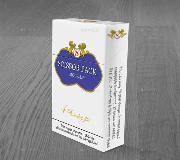 Cigarette Packet Mock Up