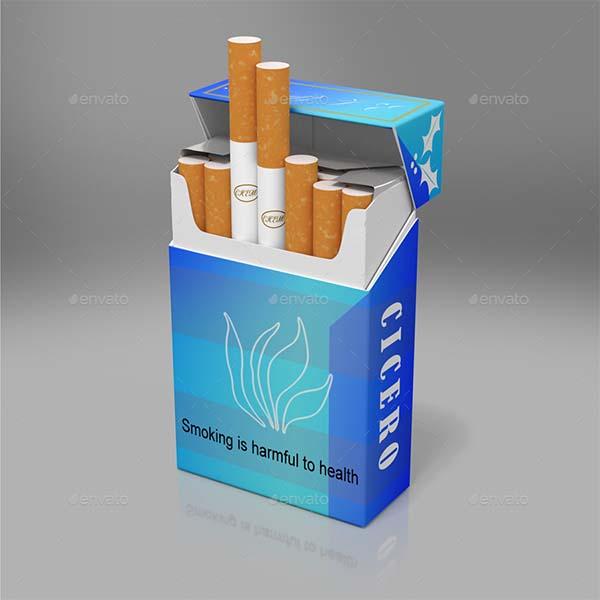 Cigarette Packs Mock-up