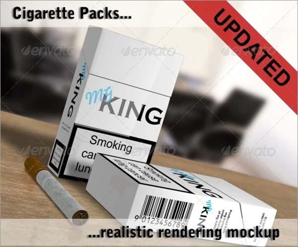 Cigarette Packs Mockup