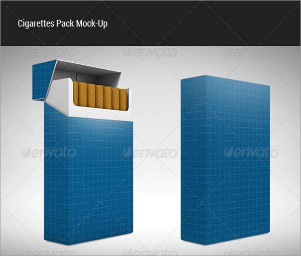 Cigarettes Pack Mock-up