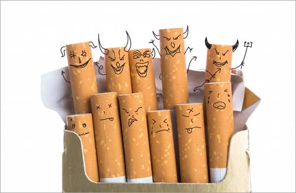 Free Cigarette Mockups