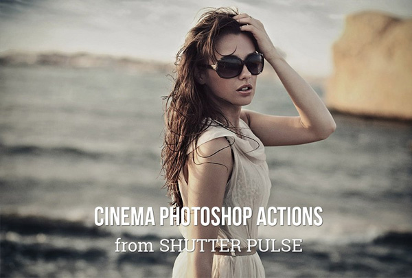 Cinema Photoshop Actions