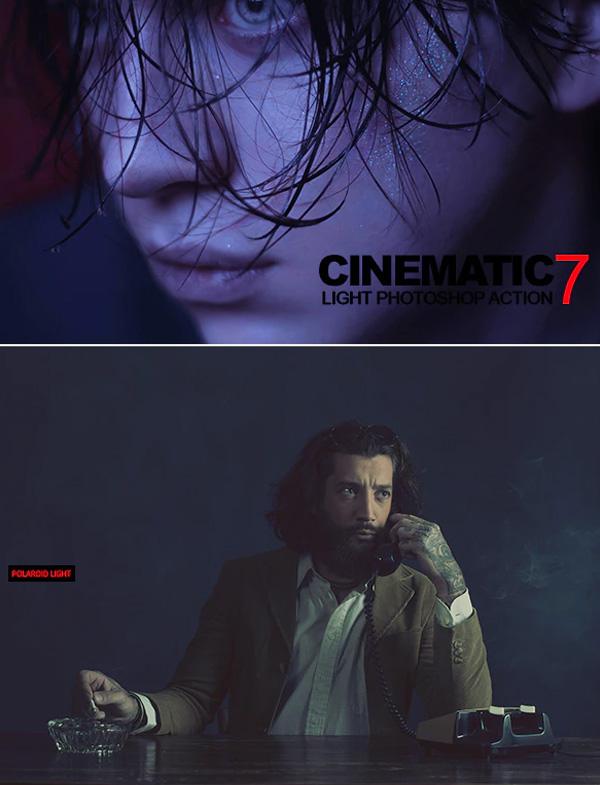 Cinematic Light Best Photoshop Action