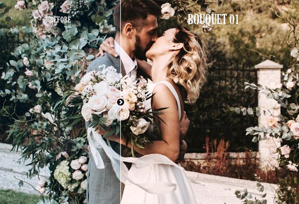 Cinematic Wedding Photoshop Actions