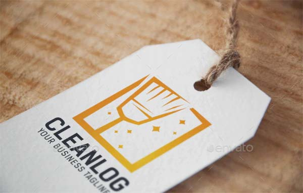 Clean Logo PSD Design Template