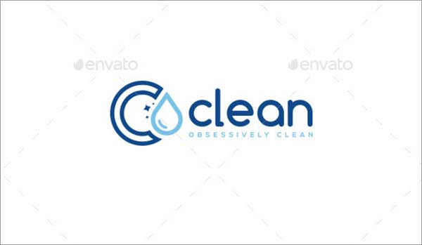 Clean Logo Template Design