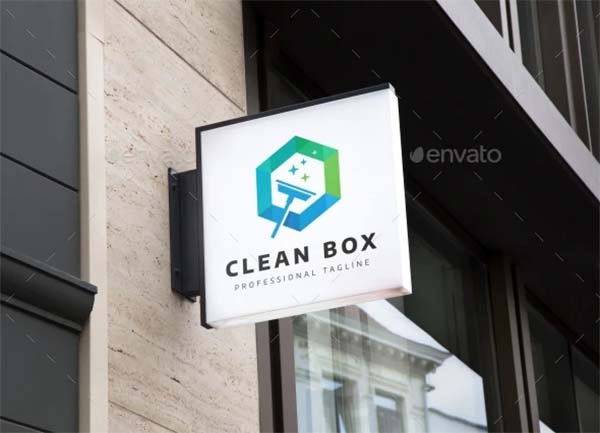 Cleaning Logo Design Template
