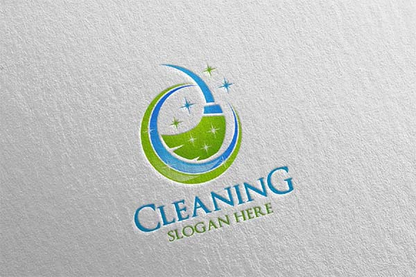 Cleaning Service Vector Logos