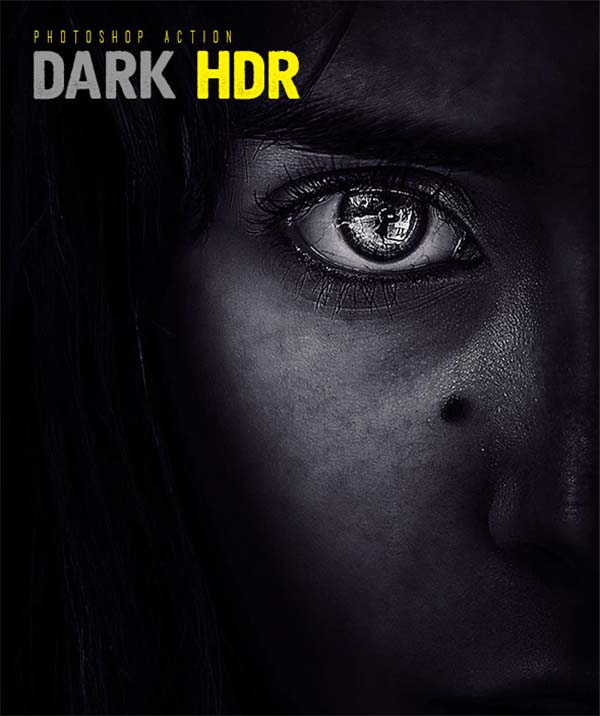 HDR Photoshop Dark Actions