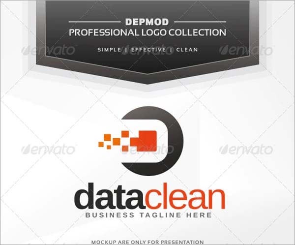 Data Clean Logo Design