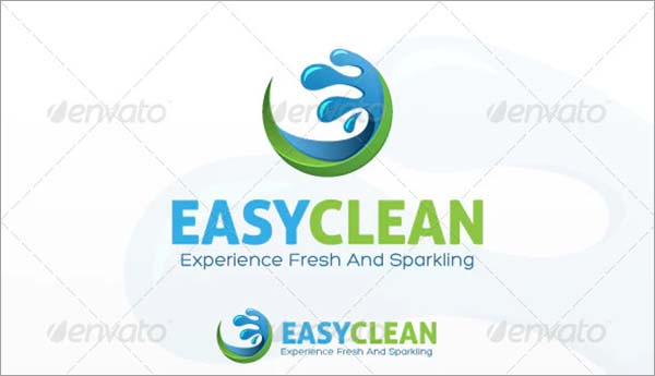 Easy Clean Logo Design Template